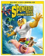The SpongeBob Movie - Sponge Out of Water Blu-ray