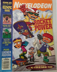 Nickelodeon Magazine cover Sept 2000 Rocket Power
