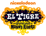 El Tigre logo (with 2009 Nickelodeon logo)