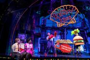 SpongeBob SquarePants Pearl and Mr. Krabs Krusty Krab Broadway Musical