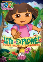 Dora The Explorer Let's Explore! Dora's Greatest Adventures DVD