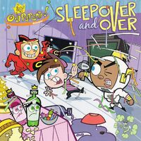 Fairly OddParents Sleep Over and Over Book