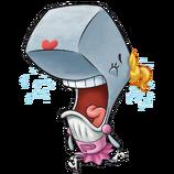 SpongeBob SquarePants Pearl Krabs Character Image Nickelodeon 4 Painted Version