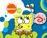 SpongeBob online poster 2006