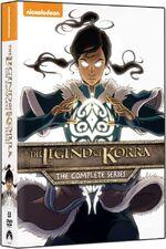 TheLegendOfKorra CompleteSeries DVD
