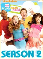The Fresh Beat Band Season 2 DVD