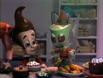 Zim with Jimmy Neutron