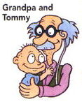 Grandpa and Tommy