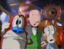 Stimpy, Doug, and Rocko