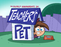 Teacher's Pet Title