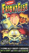 Nickelodeon Frightfest VHS