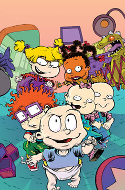 Rugrats KaBoom comic issue 1 textless