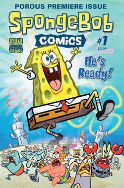 SpongeBob Comics 1