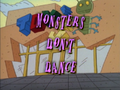 MonstersDon'tDance