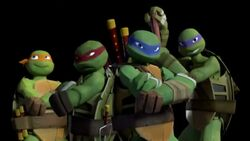 Teenage Mutant Ninja Turtles group shot
