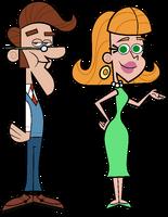 Hugh and Judy Neutron (FOP Style)