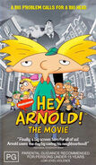 Hey Arnold! The Movie VHS Australia 2003