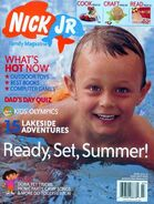 Nick Jr Family Magazine cover June July 2004