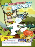 Nicktoons Nabisco Advertisement