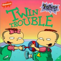 Rugrats Twin Trouble Book