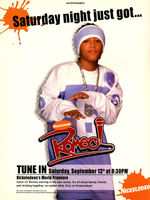 Romeo TV show print ad Nick Mag September 2003