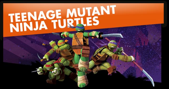Teenage Mutant Ninja Turtles-Titelbild