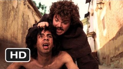 Nacho Libre (2 10) Movie CLIP - Meeting Esqueleto (2006) HD