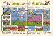 Nickelodeon Magazine Grampa Julie Shark Hunters December January 2006