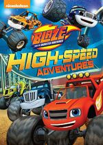 Blaze and the Monster Machines High-Speed Adventures DVD