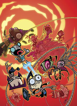 Invader Zim Progressive Stupidity Original DVD