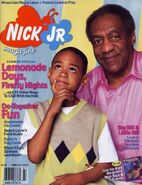 Nick Jr Magazine cover June July 2000 Bill Cosby