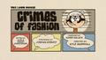 Crimes of Fashion Title Card