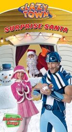 LazyTown - Surprise Santa VHS Cover
