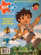 Nick Jr Magazine cover May June 2007