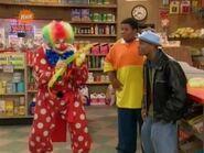 Clown helps kenan and kel