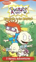Rugrats to the Rescue VHS
