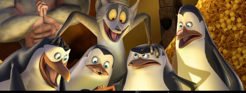 Die Pinguine aus Madagascar-Titelbild