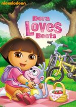 Dora the Explorer Dora Loves Boots DVD