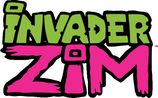 File:Invader Zim comic logo.png