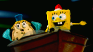 SpongeBob SquarePants Mrs. Puff Christmas Stop Motion