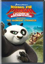 Kung Fu Panda - Legends Of Awesomeness - The Midnight Stranger 2014 DVD Cover