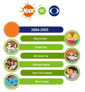 Nick on CBS 2004-2005