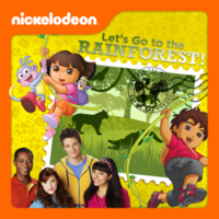 Nickelodeon - Let's Go To The Rainforest! 2013 iTunes Cover