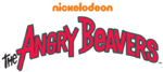 The Angry Beavers logo (with 2009 Nickelodeon wordmark)