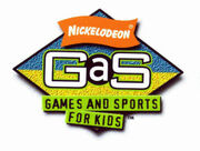 Nickelodeon GAS logo used for magazine supplements