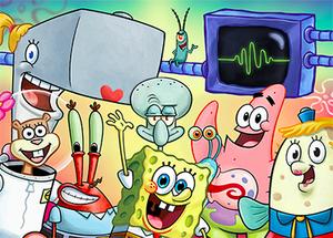 SpongeBob-Schwammkopf-Hauptcharaktere