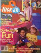 Nick Jr Magazine cover Fall 1999 Premiere Issue
