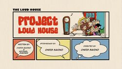 Title-ProjectLoudHouse