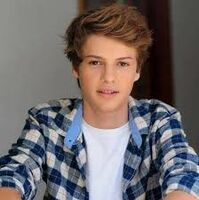 Jace Norman in blue paid
