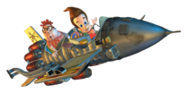 Jimmy Neutron Mark II Rocket